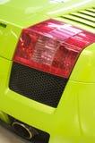 Italiaanse sportwagen in groen Royalty-vrije Stock Foto