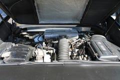 Italiaanse sportwagenmotor Stock Afbeelding