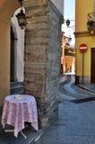 Italiaanse steeg stock foto's