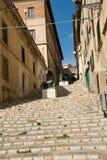 Italiaanse straat stock fotografie