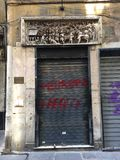 Italiaanse straten Stock Afbeeldingen
