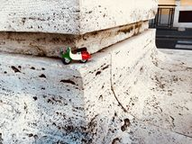 Italiaanse stuk speelgoed autoped in Rome Royalty-vrije Stock Afbeelding