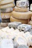Italiaanse Typische Kaas Stock Afbeeldingen