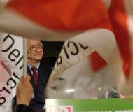 Italiaanse verkiezingen: Veltroni, P Stock Foto