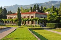 Italiaanse villa stock afbeeldingen