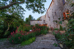 Italiaanse Villa Royalty-vrije Stock Foto's