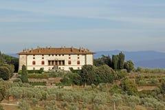 Italiaanse villa Medici stock afbeelding