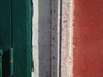 Italiaanse vlag Stock Foto's