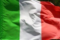 Italiaanse vlag Stock Afbeeldingen