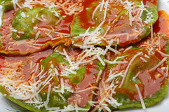 Italiaanse voedselravioli Stock Afbeelding