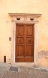 Italiaanse voordeur Royalty-vrije Stock Foto