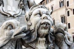Italiaanse waterfontein Stock Afbeeldingen
