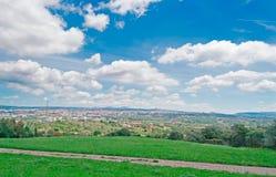 Italiaanse wolken royalty-vrije stock foto's