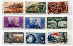 Italiaanse Zegels Royalty-vrije Stock Fotografie