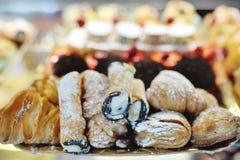 Italiaanse zoete gebakjes stock afbeeldingen