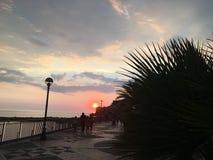 Italiaanse zonsondergang stock afbeelding