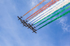 Italian acrobatics Royalty Free Stock Photo