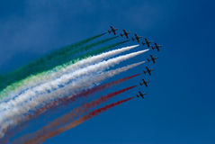 Italian airforce Stock Photography