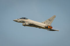 Italian Airforce typhoon jet fighter Stock Photo