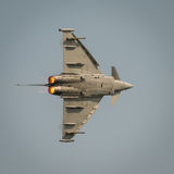 Italian Airforce typhoon jet fighter Stock Photography