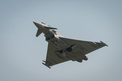 Italian Airforce typhoon jet fighter Stock Images