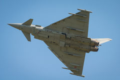 Italian Airforce typhoon jet fighter Royalty Free Stock Image
