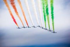 Italian airshow Royalty Free Stock Photo