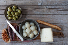 Italian Alimentary Products Royalty Free Stock Images