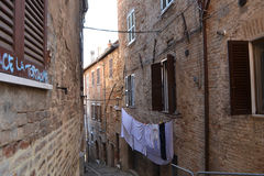 Italian alley Stock Photo