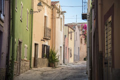 Italian alleys Royalty Free Stock Photo