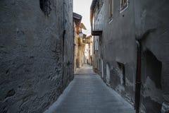 Italian alleys Stock Photography