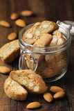 Italian Almond Cantuccini Stock Photo
