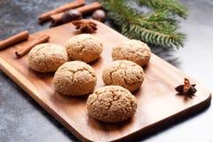 Italian almond cookie amaretti Stock Photography