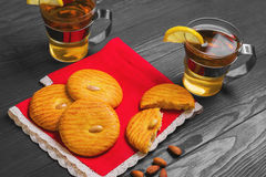 Italian almonds cookies Stock Photo