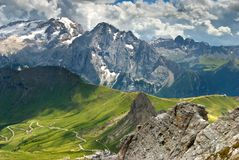 The Italian Alps Royalty Free Stock Photos