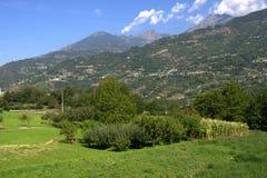 Italian alps Stock Photography