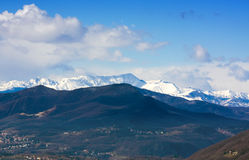 Italian Alps royalty free stock photography