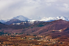 Italian Alps royalty free stock photo