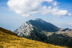 Italian Alps in the clouds Royalty Free Stock Photos