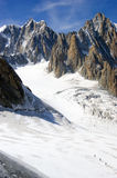 Italian Alps Mont Blanc Royalty Free Stock Photo