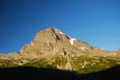 Italian Alps, monte Leone. Monte Leone, Italian Alps by the Italian-Swiss border. Piemonte, Italy stock image