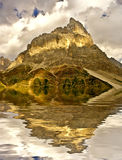 Italian alps mountain Royalty Free Stock Image