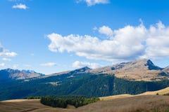 Italian Alps panorama Royalty Free Stock Photo