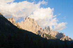 Italian Alps panorama Royalty Free Stock Photos
