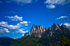 Italian Alps - The Sciliar Stock Photography