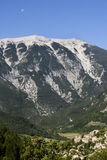 Italian alps. The italian alps with snow tops Royalty Free Stock Photo