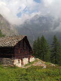 Italian alps; Val Vogna Stock Photo