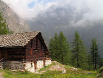 Italian alps; Val Vogna Royalty Free Stock Images