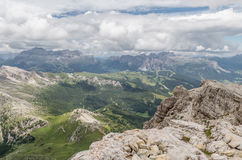 Italian Alps Valley, Italy Royalty Free Stock Image