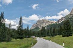 Italian Alps Valley, Italy Stock Photos